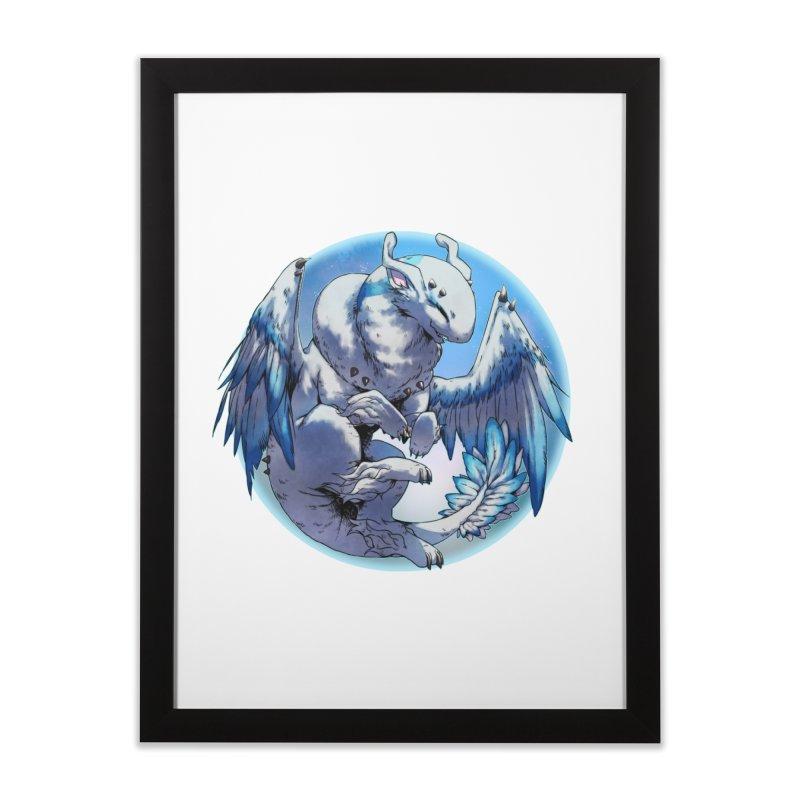 FroYo Snowglobe Home Framed Fine Art Print by AdeptGamer's Merchandise