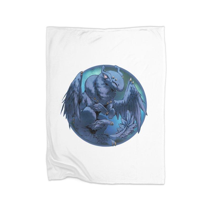 Blueberry Snowglobe Home Blanket by AdeptGamer's Merchandise