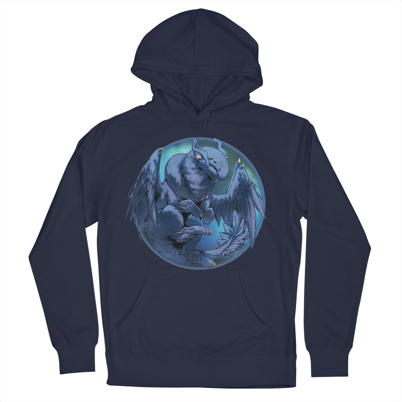 Blueberry Snowglobe Men's Pullover Hoody by AdeptGamer's Merchandise