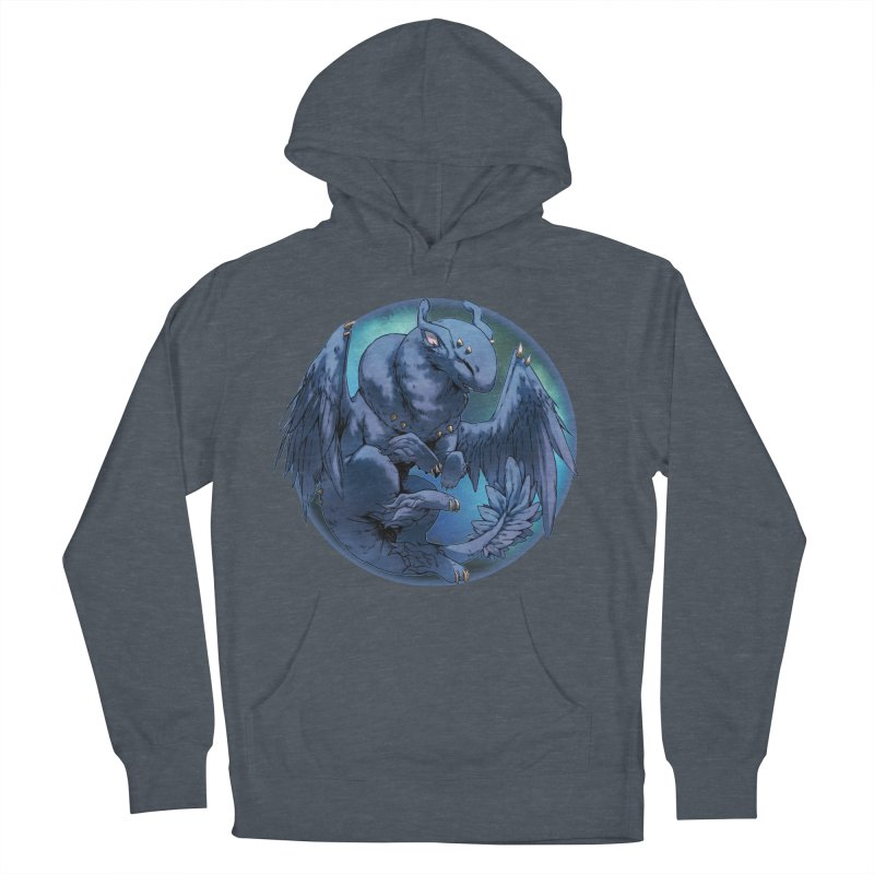Blueberry Snowglobe Women's French Terry Pullover Hoody by AdeptGamer's Merchandise