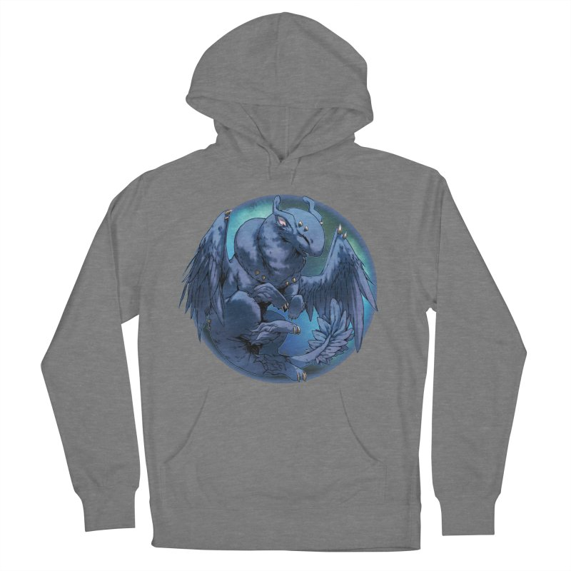 Blueberry Snowglobe Men's French Terry Pullover Hoody by AdeptGamer's Merchandise