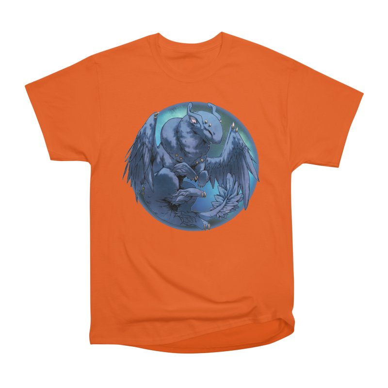 Blueberry Snowglobe Men's Heavyweight T-Shirt by AdeptGamer's Merchandise