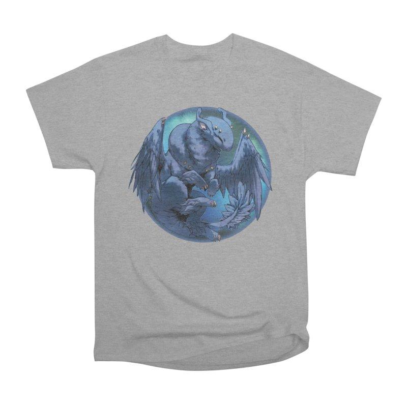 Blueberry Snowglobe Women's Heavyweight Unisex T-Shirt by AdeptGamer's Merchandise