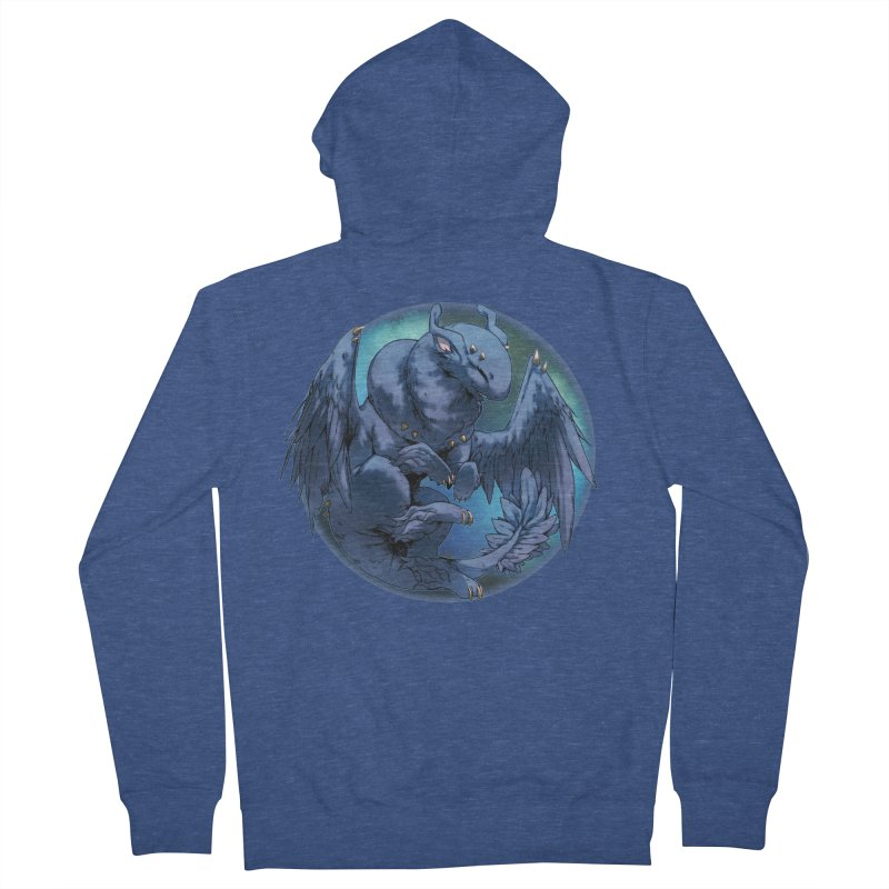 Blueberry Snowglobe Women's French Terry Zip-Up Hoody by AdeptGamer's Merchandise
