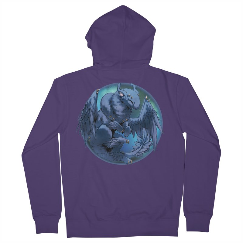 Blueberry Snowglobe Women's Zip-Up Hoody by AdeptGamer's Merchandise