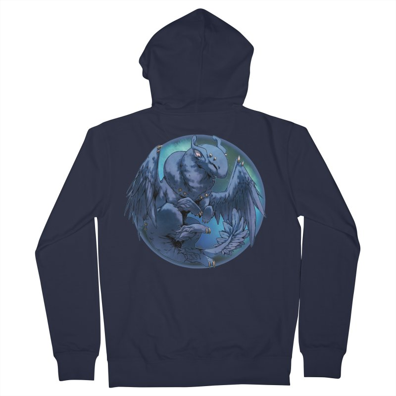 Blueberry Snowglobe Men's Zip-Up Hoody by AdeptGamer's Merchandise