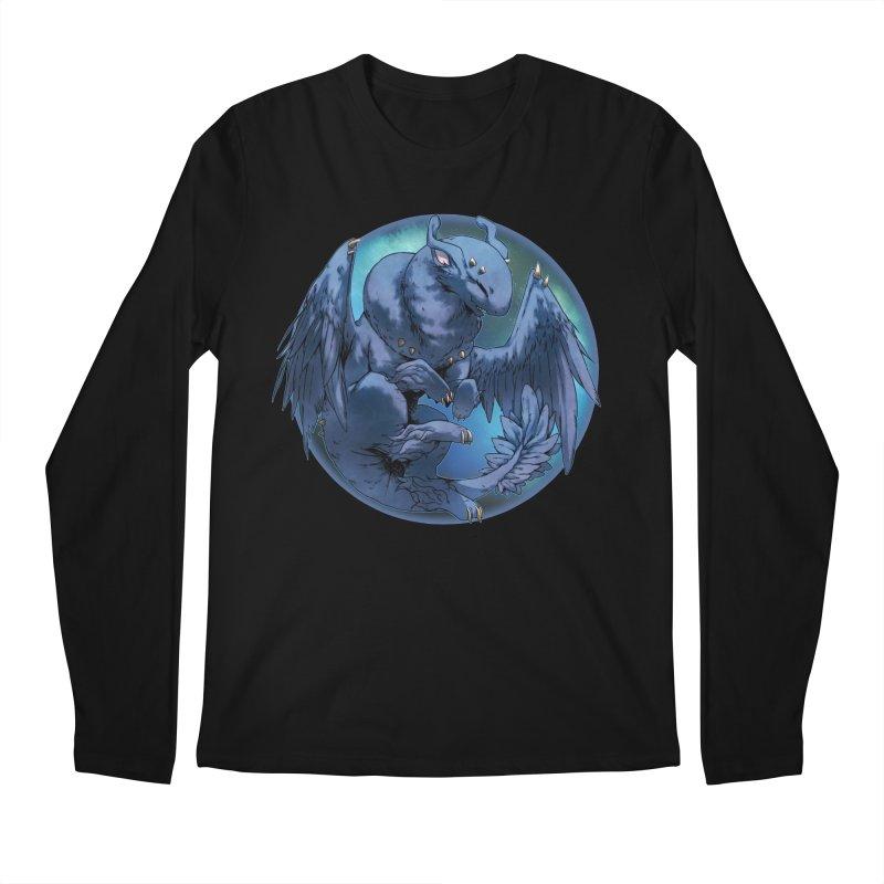 Blueberry Snowglobe Men's Regular Longsleeve T-Shirt by AdeptGamer's Merchandise
