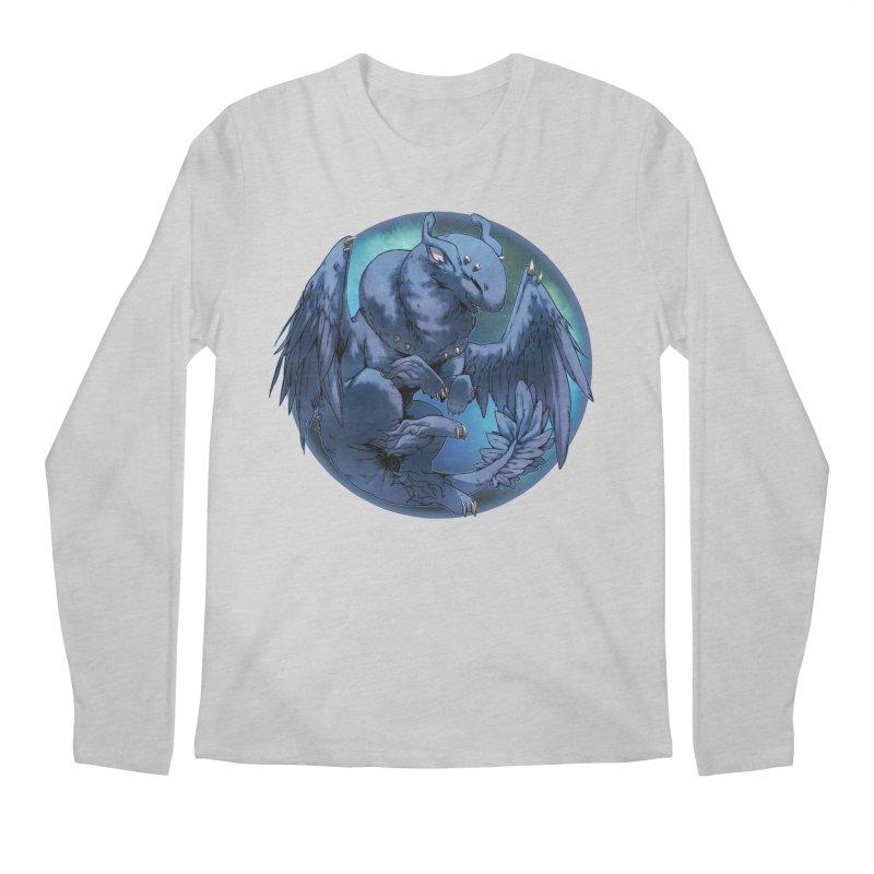 Blueberry Snowglobe Men's Longsleeve T-Shirt by AdeptGamer's Merchandise