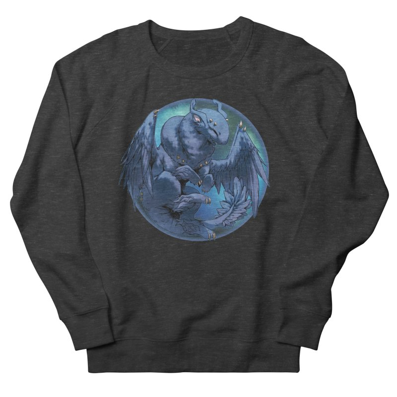 Blueberry Snowglobe Women's French Terry Sweatshirt by AdeptGamer's Merchandise