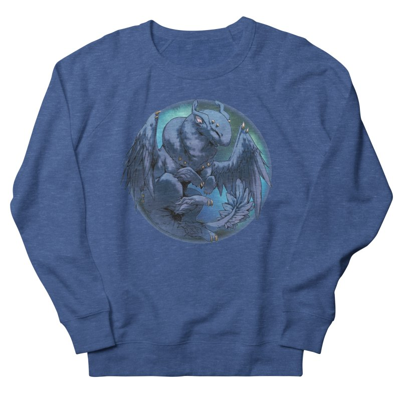 Blueberry Snowglobe Men's French Terry Sweatshirt by AdeptGamer's Merchandise