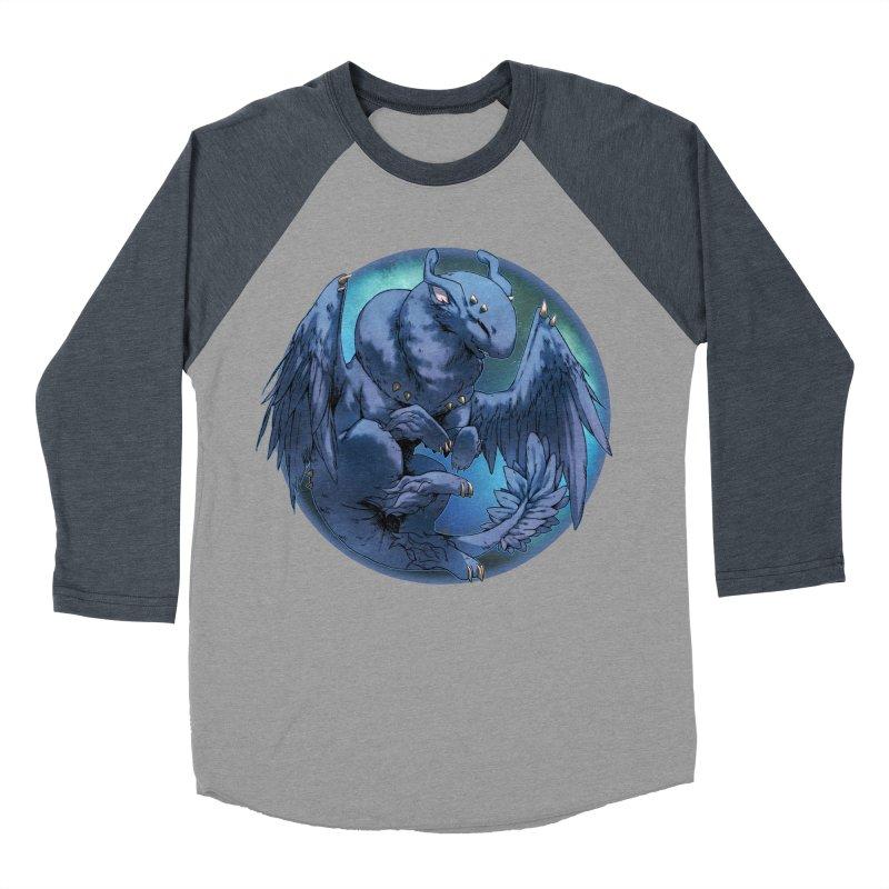 Blueberry Snowglobe Men's Baseball Triblend Longsleeve T-Shirt by AdeptGamer's Merchandise