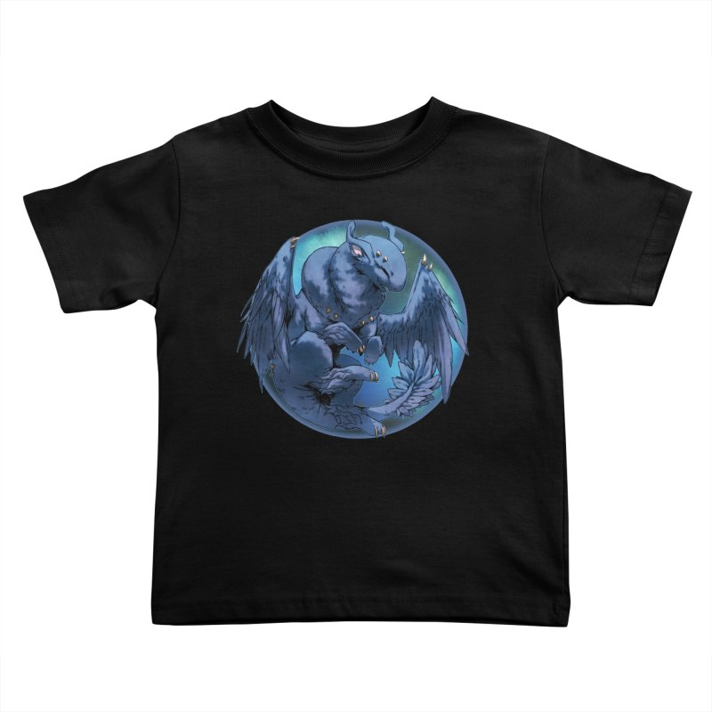 Blueberry Snowglobe Kids Toddler T-Shirt by AdeptGamer's Merchandise