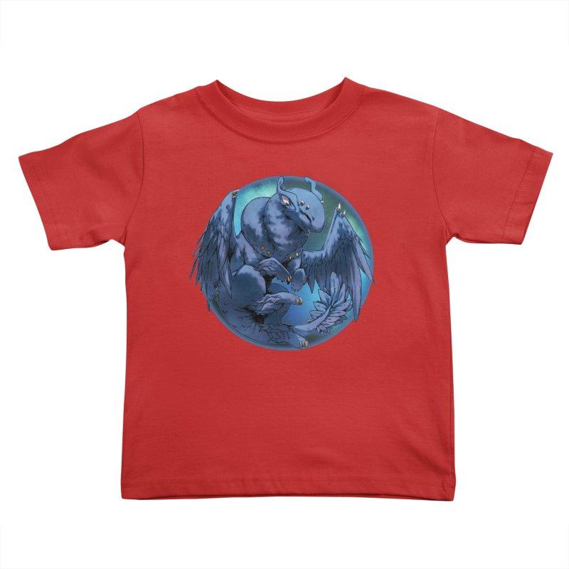 Blueberry Snowglobe Kids Toddler T-Shirt by AdeptGamer's Merchandise