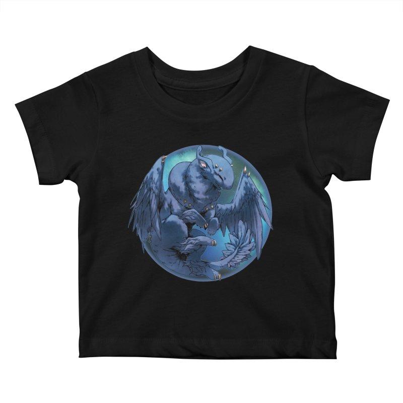 Blueberry Snowglobe Kids Baby T-Shirt by AdeptGamer's Merchandise