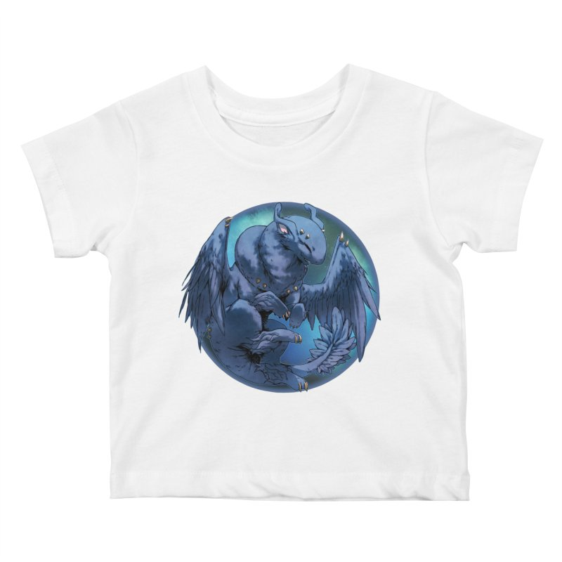 Blueberry Snowglobe Kids Baby T-Shirt by AdeptGamer's Merchandise