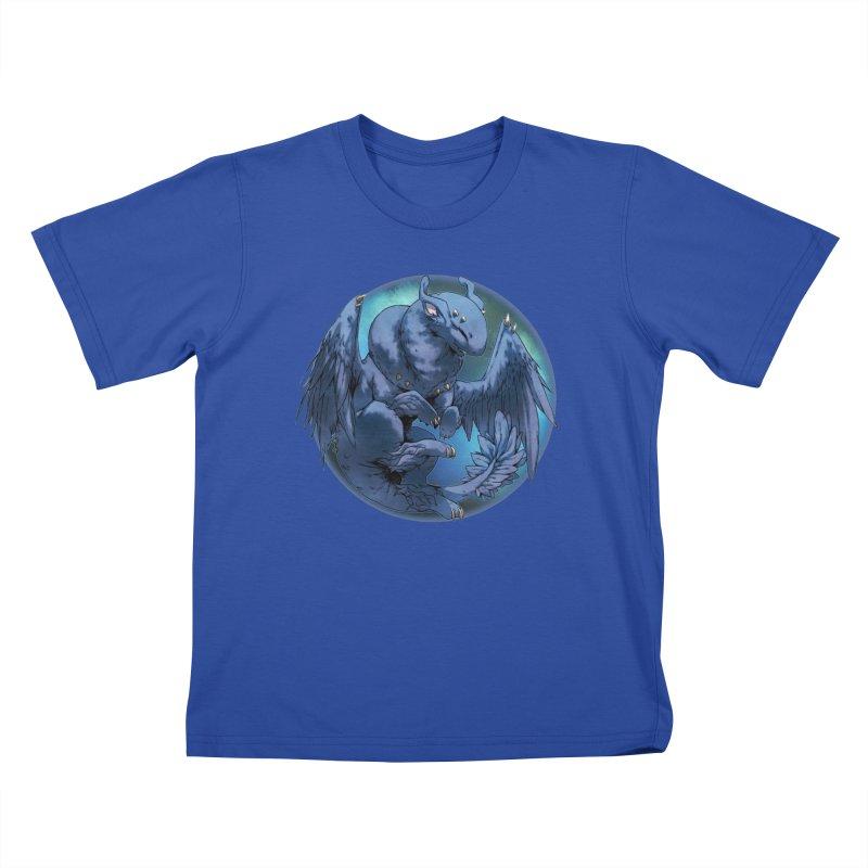 Blueberry Snowglobe Kids T-Shirt by AdeptGamer's Merchandise