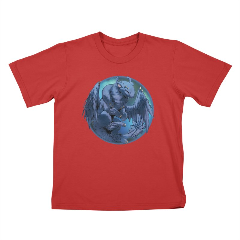 Blueberry Snowglobe Kids T-Shirt by AdeptGamer's Merchandise