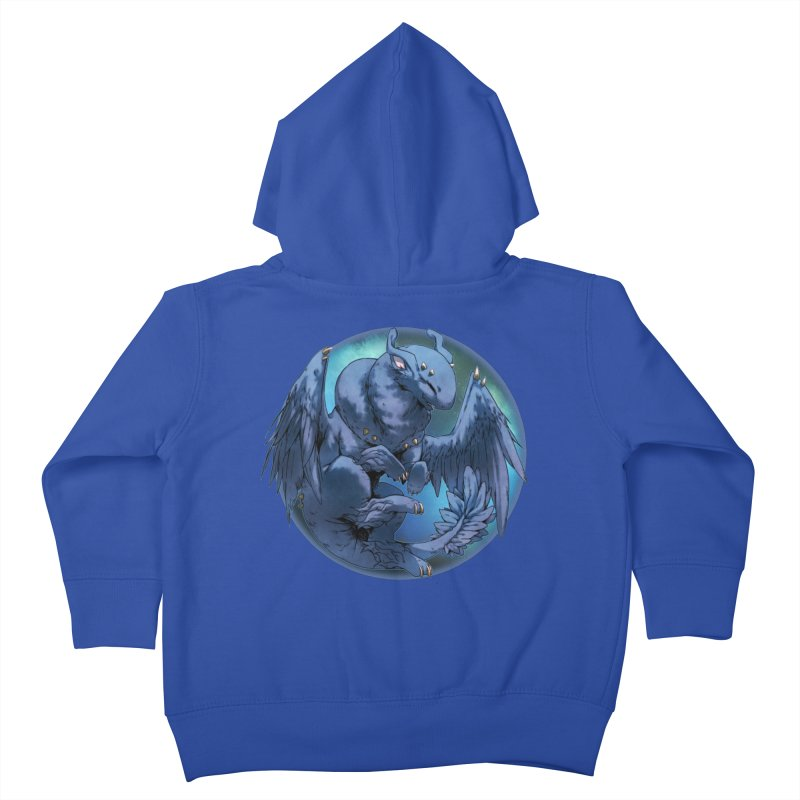 Blueberry Snowglobe Kids Toddler Zip-Up Hoody by AdeptGamer's Merchandise