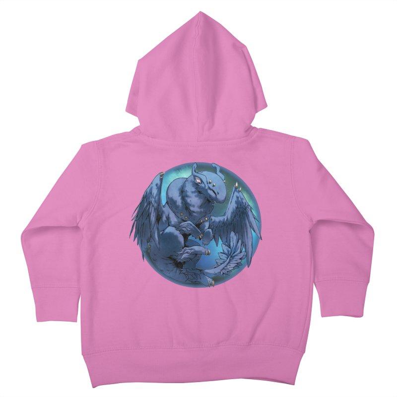 Blueberry Snowglobe Kids Toddler Zip-Up Hoody by AdeptGamer's Merchandise
