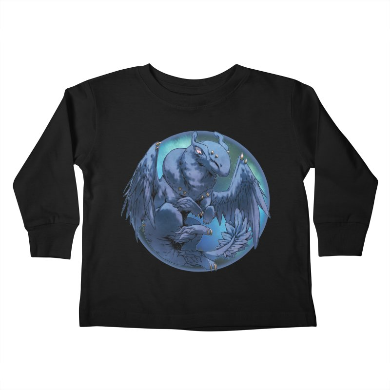 Blueberry Snowglobe Kids Toddler Longsleeve T-Shirt by AdeptGamer's Merchandise