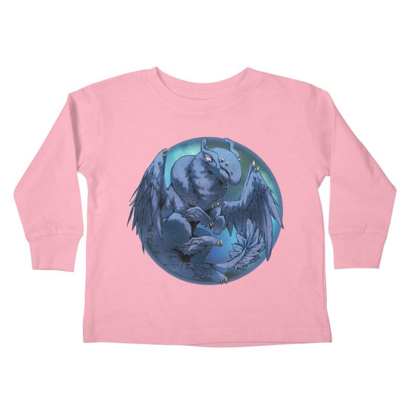 Blueberry Snowglobe Kids Toddler Longsleeve T-Shirt by AdeptGamer's Merchandise