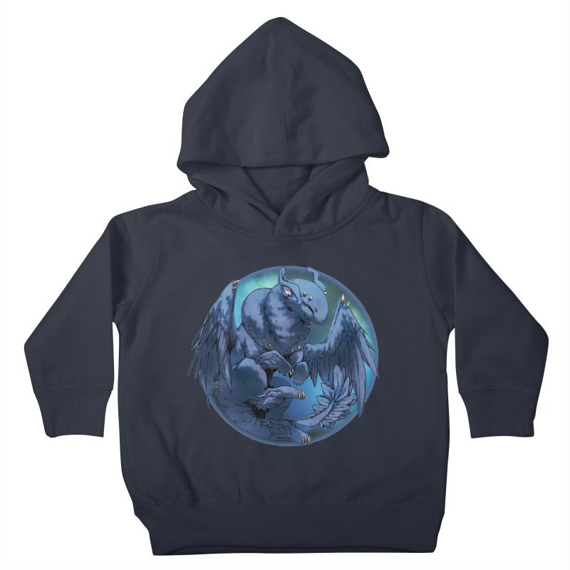 Blueberry Snowglobe Kids Toddler Pullover Hoody by AdeptGamer's Merchandise