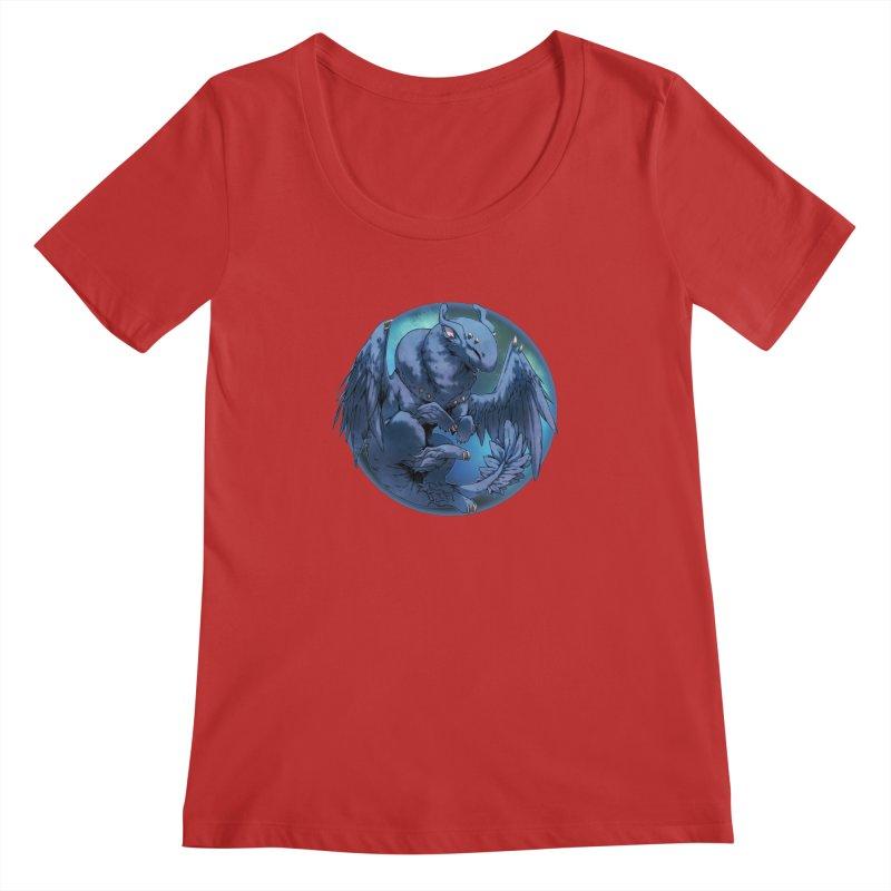 Blueberry Snowglobe Women's Regular Scoop Neck by AdeptGamer's Merchandise
