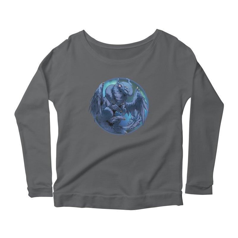 Blueberry Snowglobe Women's Scoop Neck Longsleeve T-Shirt by AdeptGamer's Merchandise