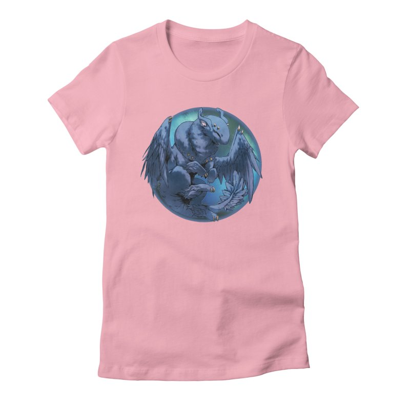 Blueberry Snowglobe Women's Fitted T-Shirt by AdeptGamer's Merchandise