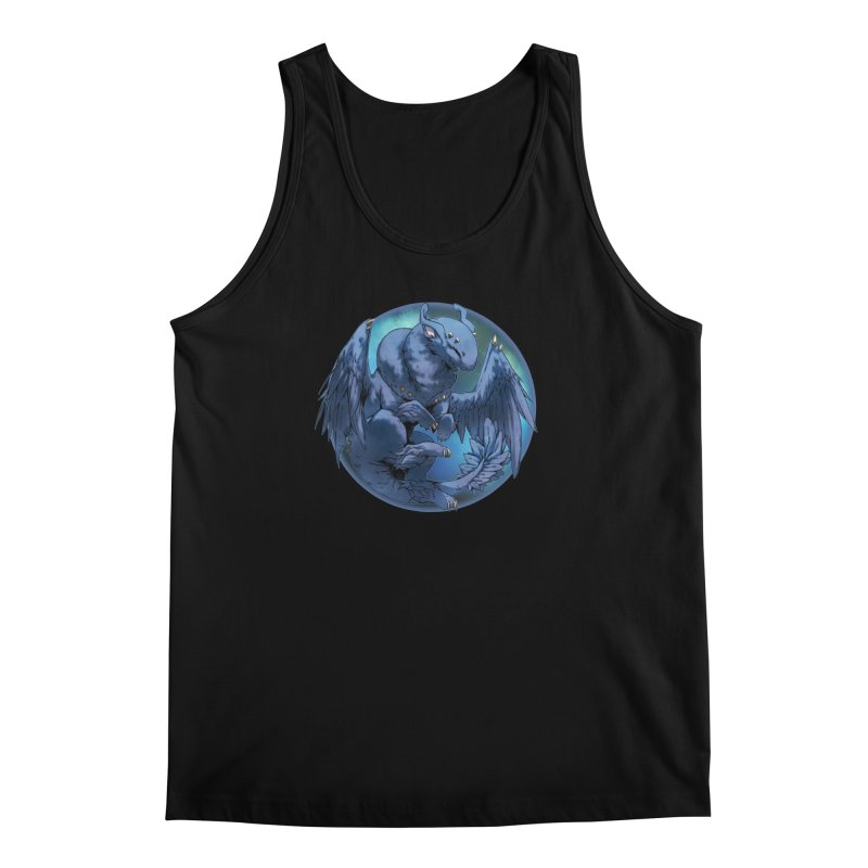 Blueberry Snowglobe Men's Tank by AdeptGamer's Merchandise