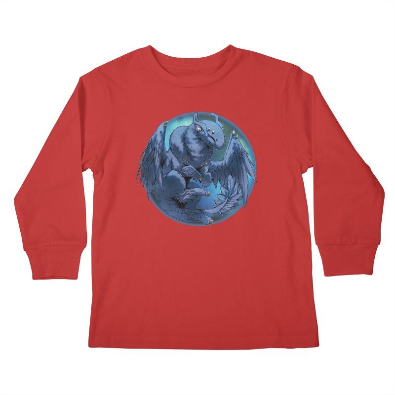 Blueberry Snowglobe Kids Longsleeve T-Shirt by AdeptGamer's Merchandise