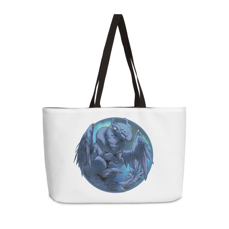 Blueberry Snowglobe Accessories Bag by AdeptGamer's Merchandise