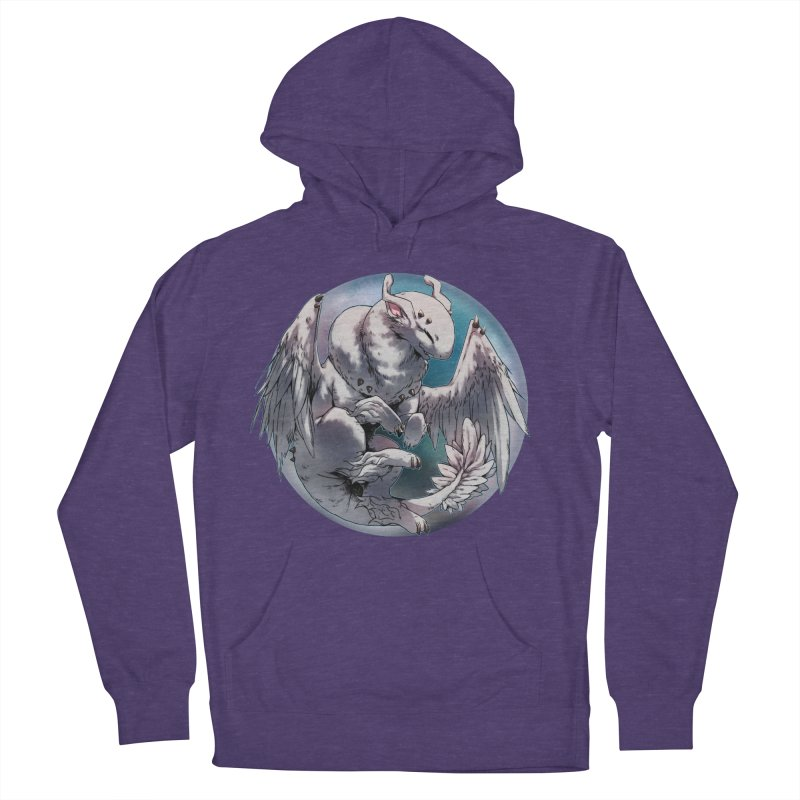 Fleeting Snow Snowglobe Men's French Terry Pullover Hoody by AdeptGamer's Merchandise