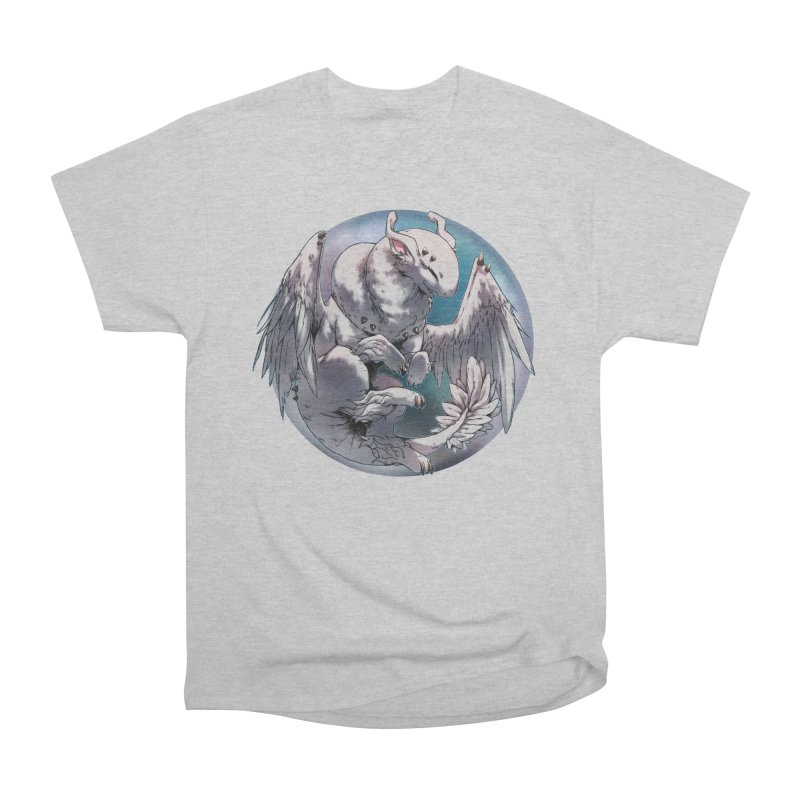 Fleeting Snow Snowglobe Men's Heavyweight T-Shirt by AdeptGamer's Merchandise