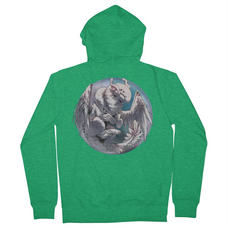 Fleeting Snow Snowglobe Women's Zip-Up Hoody by AdeptGamer's Merchandise