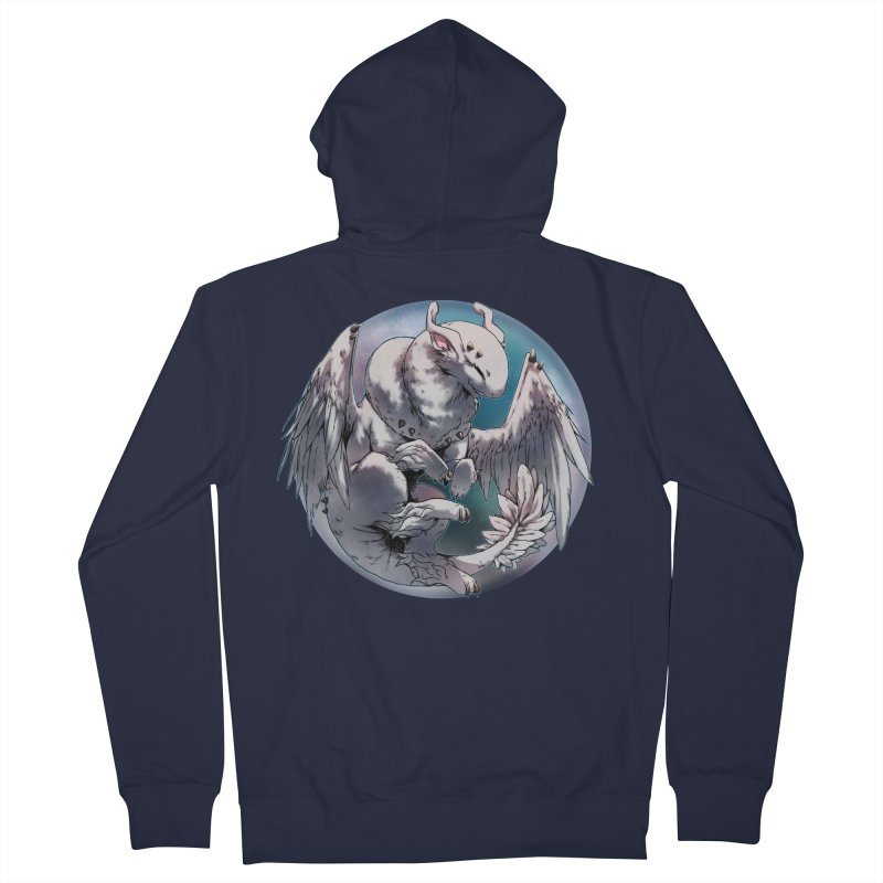Fleeting Snow Snowglobe Men's French Terry Zip-Up Hoody by AdeptGamer's Merchandise