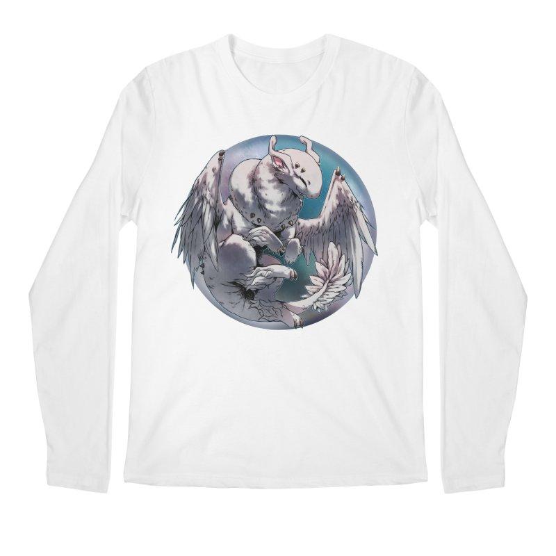Fleeting Snow Snowglobe Men's Regular Longsleeve T-Shirt by AdeptGamer's Merchandise