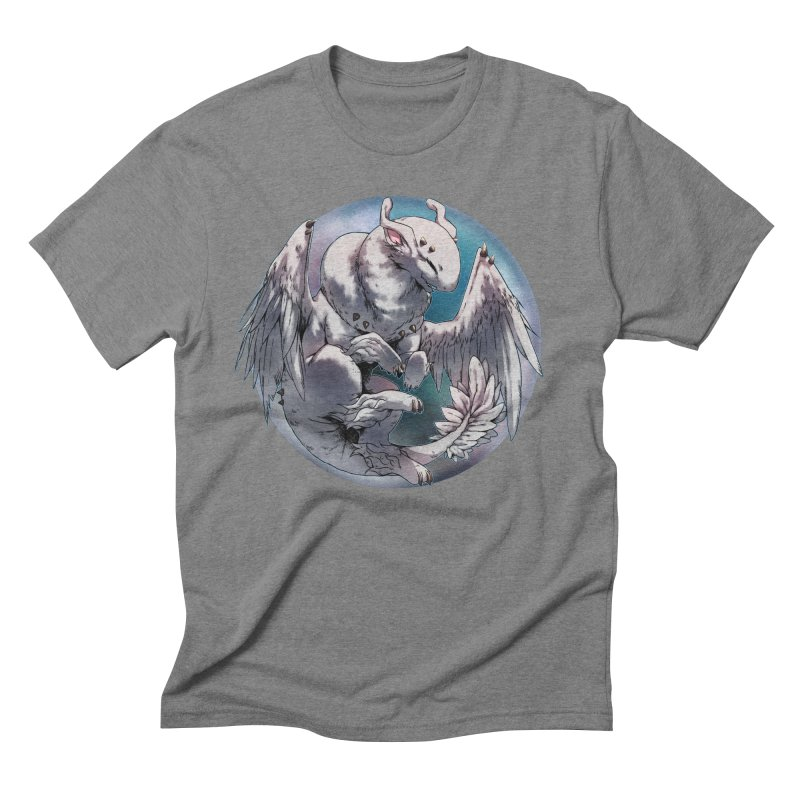 Fleeting Snow Snowglobe Men's Triblend T-Shirt by AdeptGamer's Merchandise