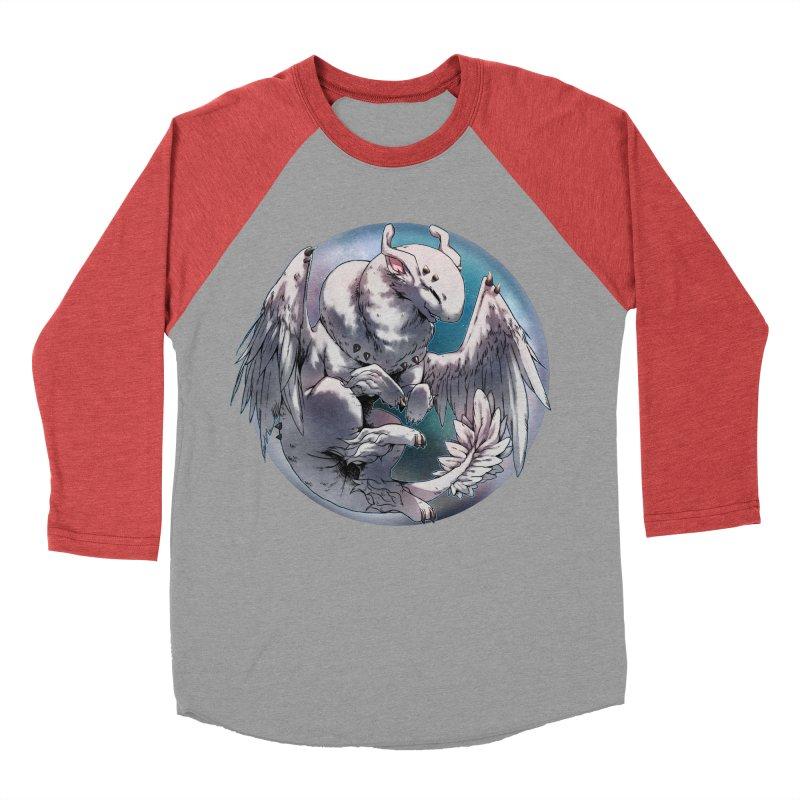 Fleeting Snow Snowglobe Women's Baseball Triblend Longsleeve T-Shirt by AdeptGamer's Merchandise