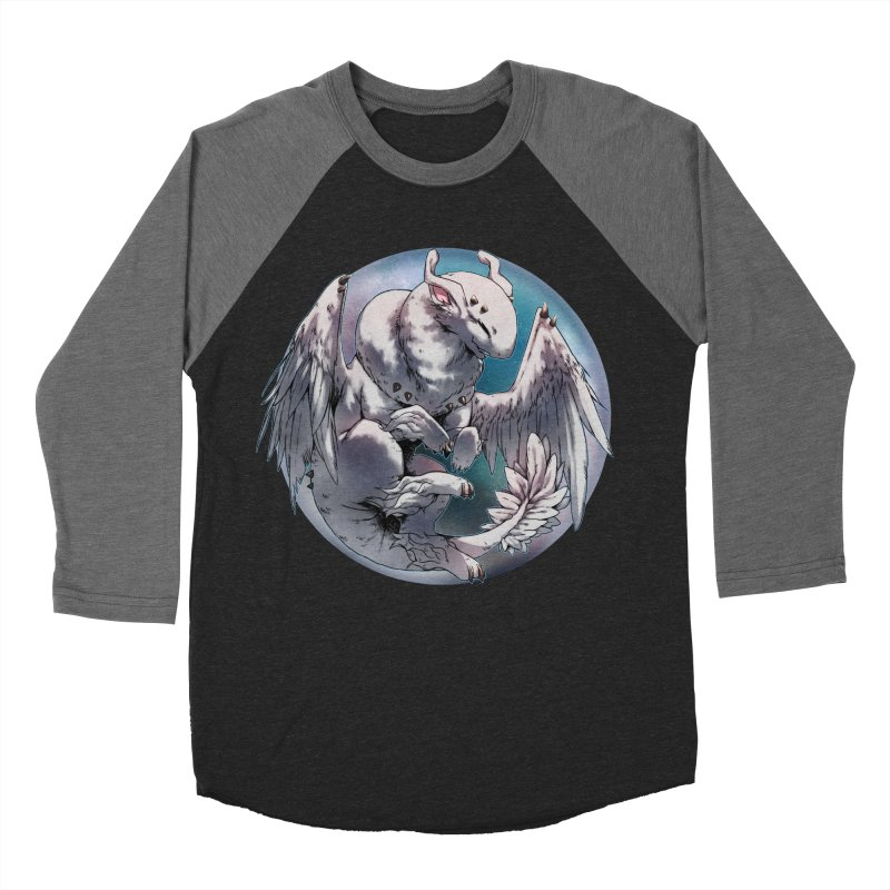 Fleeting Snow Snowglobe Men's Baseball Triblend T-Shirt by AdeptGamer's Merchandise