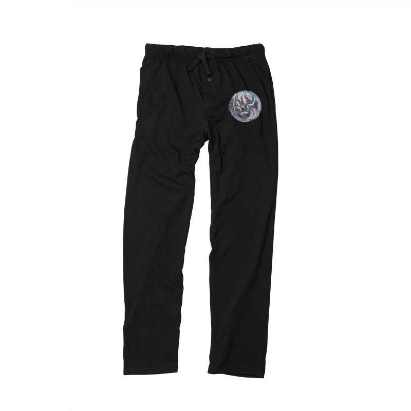 Fleeting Snow Snowglobe Men's Lounge Pants by AdeptGamer's Merchandise