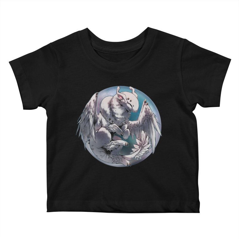Fleeting Snow Snowglobe Kids Baby T-Shirt by AdeptGamer's Merchandise