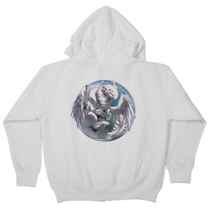 Fleeting Snow Snowglobe Kids Zip-Up Hoody by AdeptGamer's Merchandise