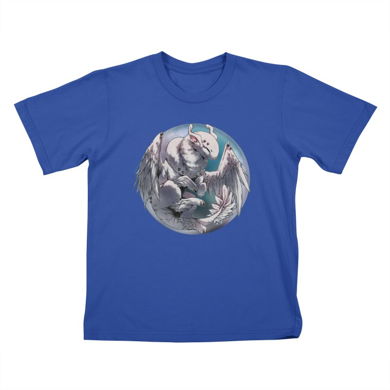 Fleeting Snow Snowglobe Kids T-Shirt by AdeptGamer's Merchandise