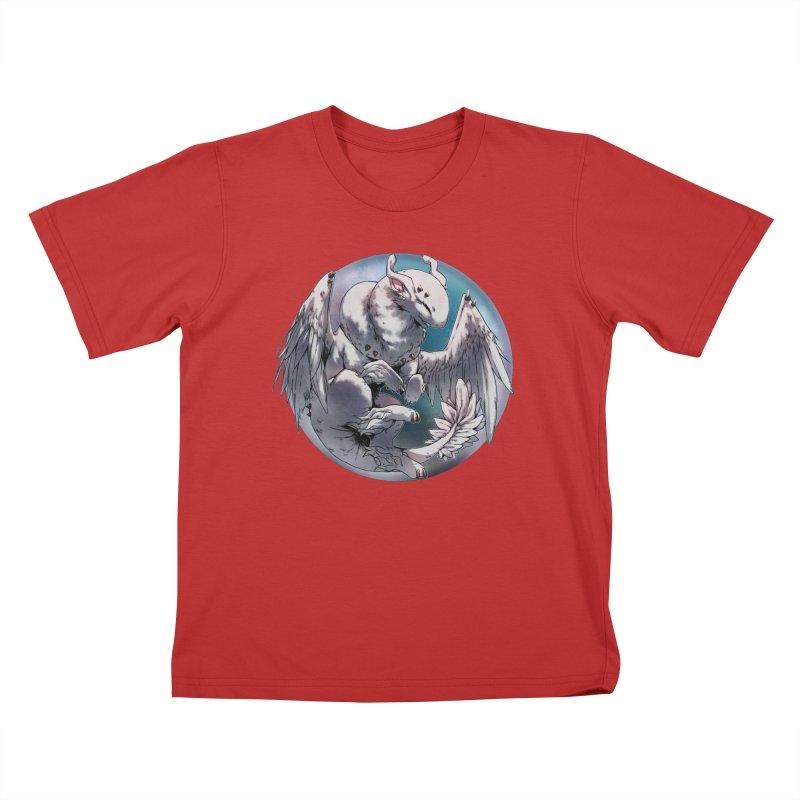 Fleeting Snow Snowglobe Kids T-Shirt by AdeptGamer's Merchandise