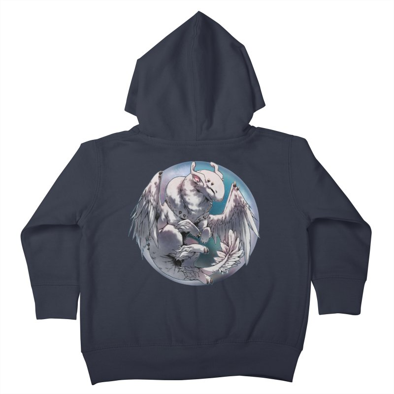 Fleeting Snow Snowglobe Kids Toddler Zip-Up Hoody by AdeptGamer's Merchandise