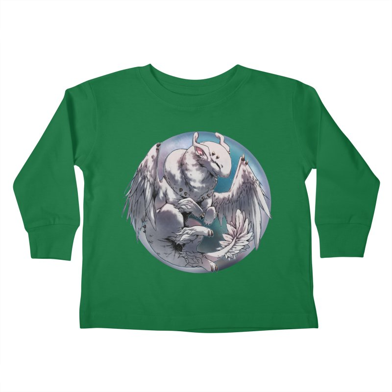 Fleeting Snow Snowglobe Kids Toddler Longsleeve T-Shirt by AdeptGamer's Merchandise
