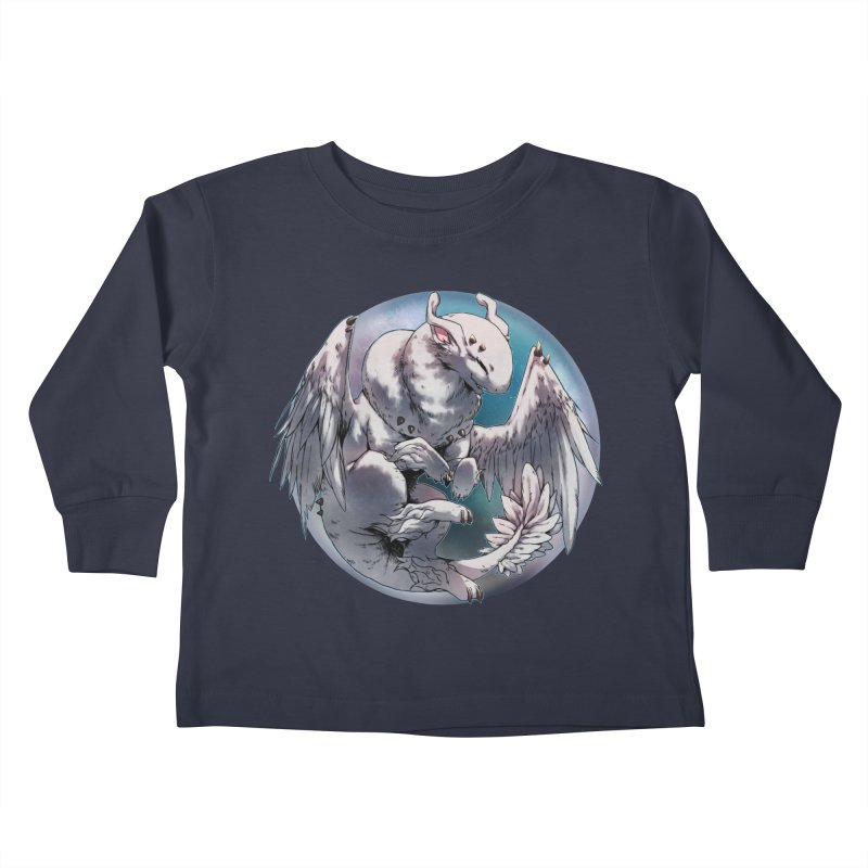 Fleeting Snow Snowglobe Kids Toddler Longsleeve T-Shirt by AdeptGamer's Merchandise