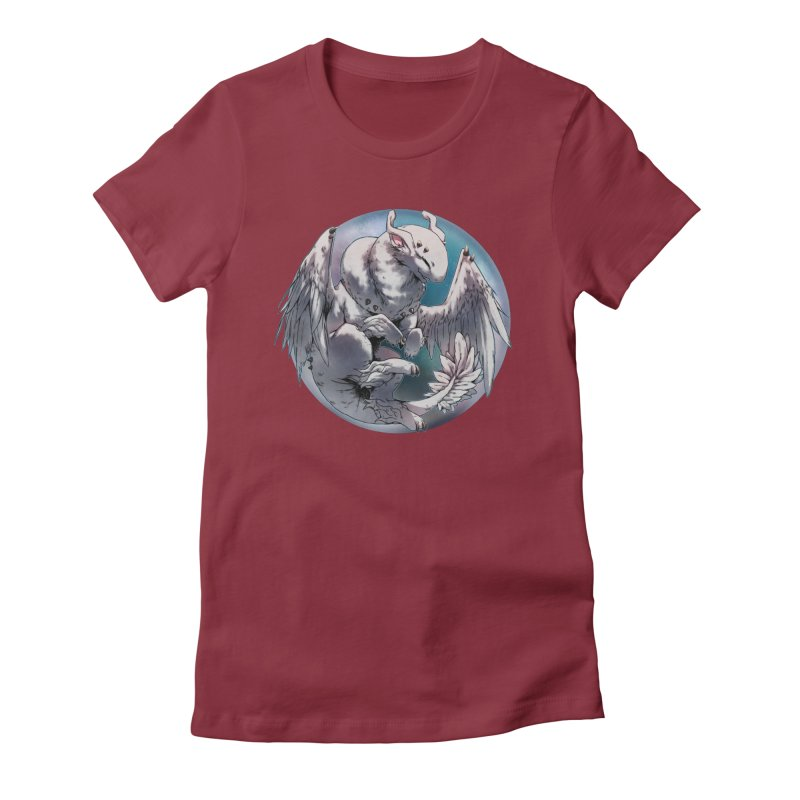 Fleeting Snow Snowglobe Women's Fitted T-Shirt by AdeptGamer's Merchandise