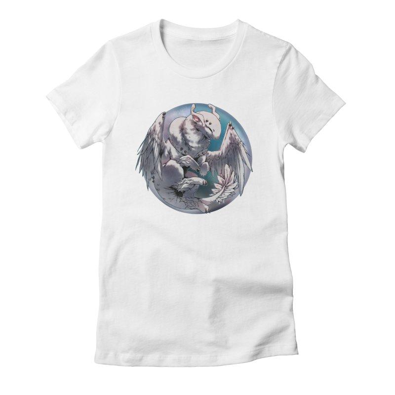 Fleeting Snow Snowglobe Women's Fitted T-Shirt by AdeptGamer's Merchandise